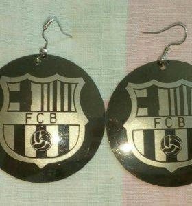 Сережки FCB