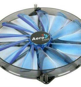Вентилятор Aerocool Lightning 200mm синяя подсветк