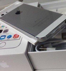 Новый iPhone 5s Silver 16 ГБ