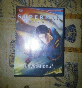 Игра Superman Returns на PS2