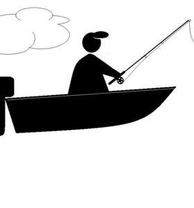 Лодка, катер, пантон