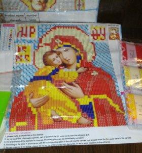 Владимирская Богоматерь. Набор мозаики
