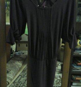Продам Платье р 42-44 цвет баклажан