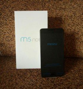 Meizu M5 Note 3/32 Гб (новый)