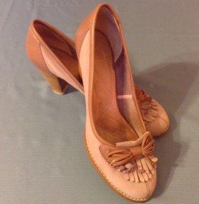 Туфли замша (37,5)