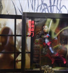 Comic Con DC Super Hero High Katana