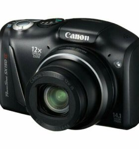 Canon PowerShot SX150 IS (черный)