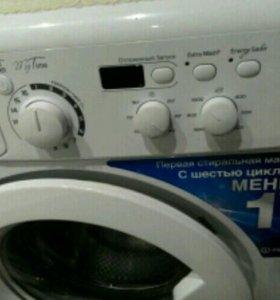 НОВАЯ стиральна машина Индезит в заводской упаковк