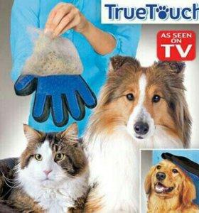 Перчатка для животных.