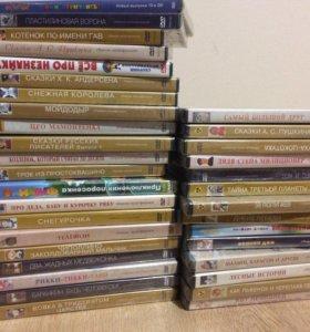 Коллекция мультфильмов (новые диски)