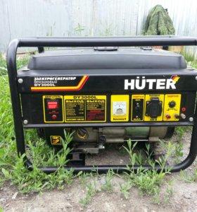Электрогенератор бензиновый.HUTER