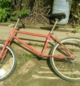 Велосипед ПВЗ СССР 20 дюймов почти в сборе Кроссик