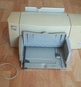HP DeskJet принтер.