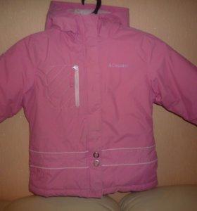 Зимняя куртка Colambia 4-5 лет