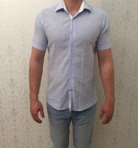 Рубашка мужская KANZLER лен