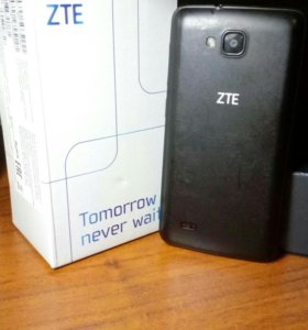 ZTE Tomorrow never waits