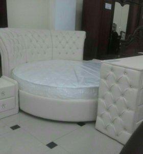 Кровать круглая