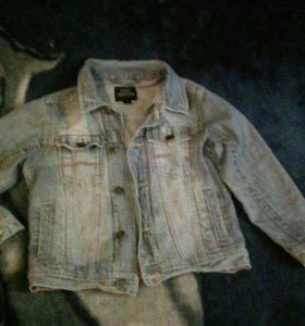 Куртка джинсовая р-р 116