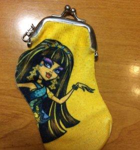 Кошелёк-носочек Monster High