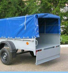 Доставка небольших грузов на легковом автоприцепе