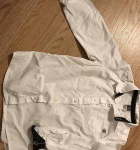 Белая рубашка 104-110