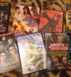 12 шт Фильмы диски
