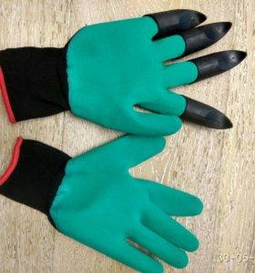 Продам перчатки-грабли