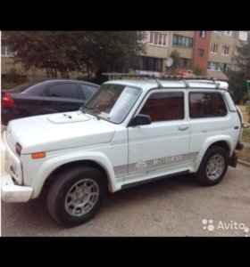 LADA 4x4(нива),1,7МТ, 2001 г.