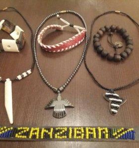 Фенечки из Занзибара