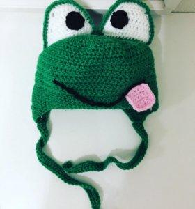 Шапка-лягушка