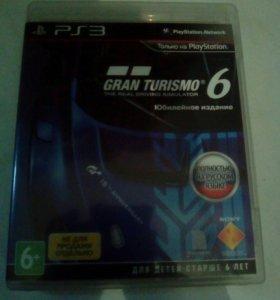 Игра для ps3 GRAN TURISMO 6