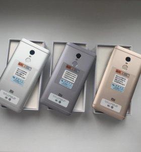 Xiaomi Redmi Note 4 3/32гб Новые