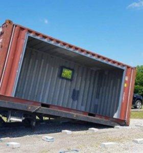 Переделываем контейнеры в бытовые помещения