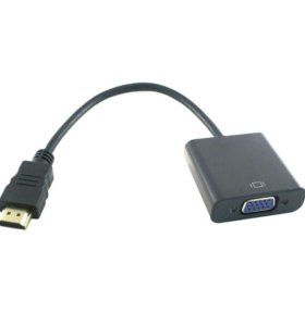 Конвертер переходник HDMI на VGA 0,2 м