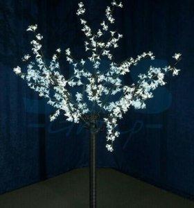 """Светодиодное дерево """"Вишня"""""""