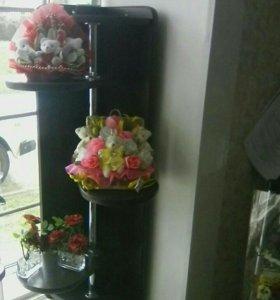 Полка для цветов навесная