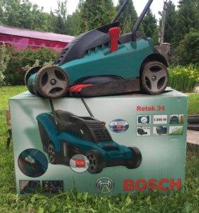 Газонокосилка Bosch Rotak 34
