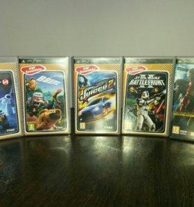 Набор игр для PSP