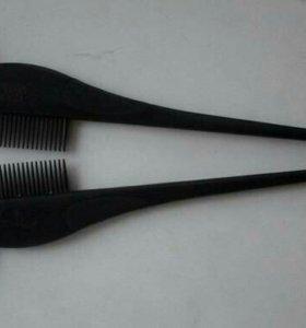 "Кисточки-расчески ""Wella"" для окрашевания волос"