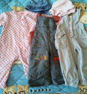 Пакетик одежды на девочку