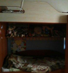 Дувхярусная кровать
