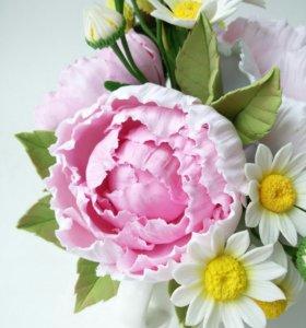 Курсы лепки цветов из полимерной глины