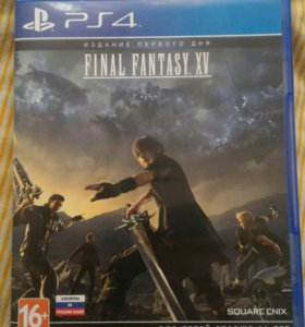 Final fantasy XV на ps4