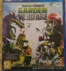 Plants vs zombies garden warfare на ps4