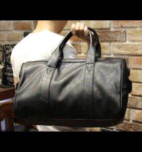 Кожаная сумка , мужская