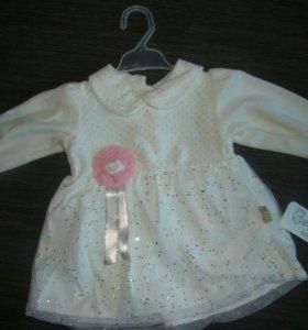 Платье новое для малышки