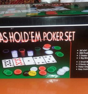Настольная игра в покер и блекжек