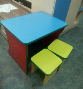 Стол + 2 стула (02491)