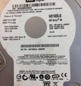 Жесткий диск 160Гб 3,5