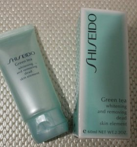 Пилинг-скатка SHISEIDO Green Tea